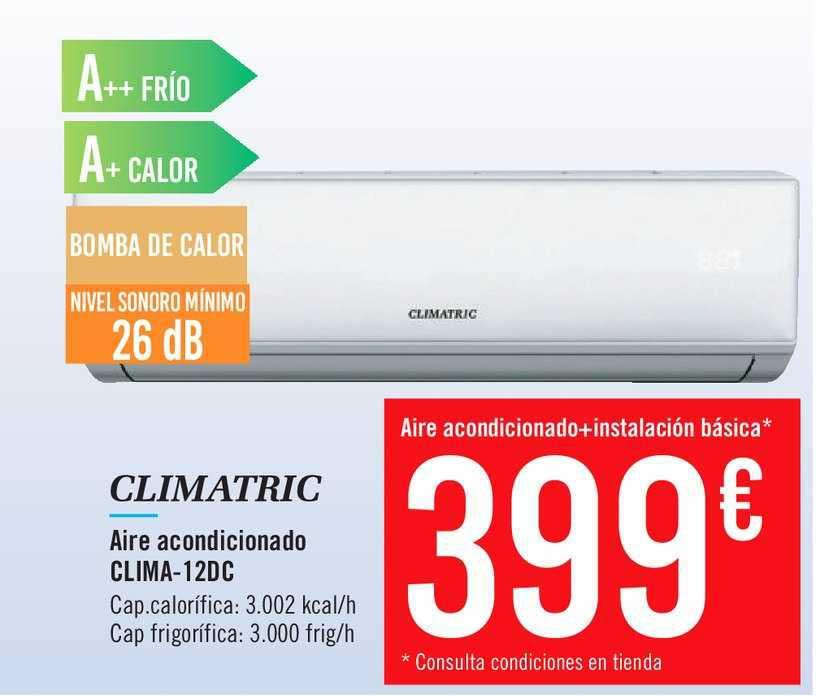Carrefour Climatric Aire Acondicionado Clima-12dc