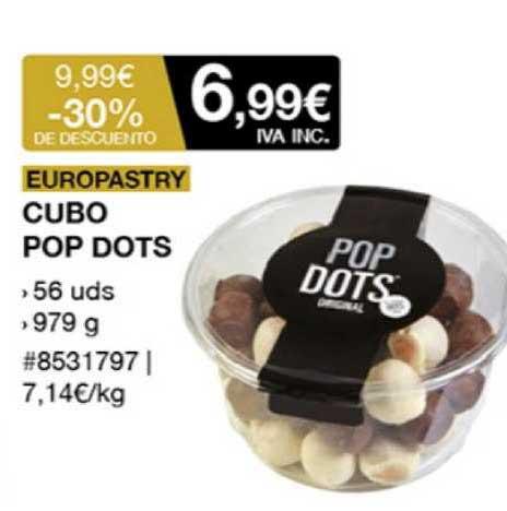 Costco Europastry Cubo Pop Dots