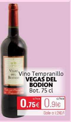 Cuevas Cash Vino Tempranillo Vegas Del Bodion