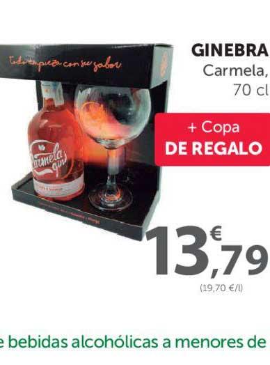 SPAR Ginebra Carmela, 70 Cl + Copa De Regalo