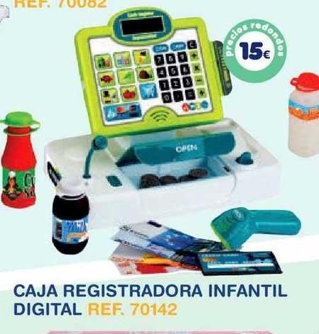 Tiendas MGI Caja Registradora Infantil Digital