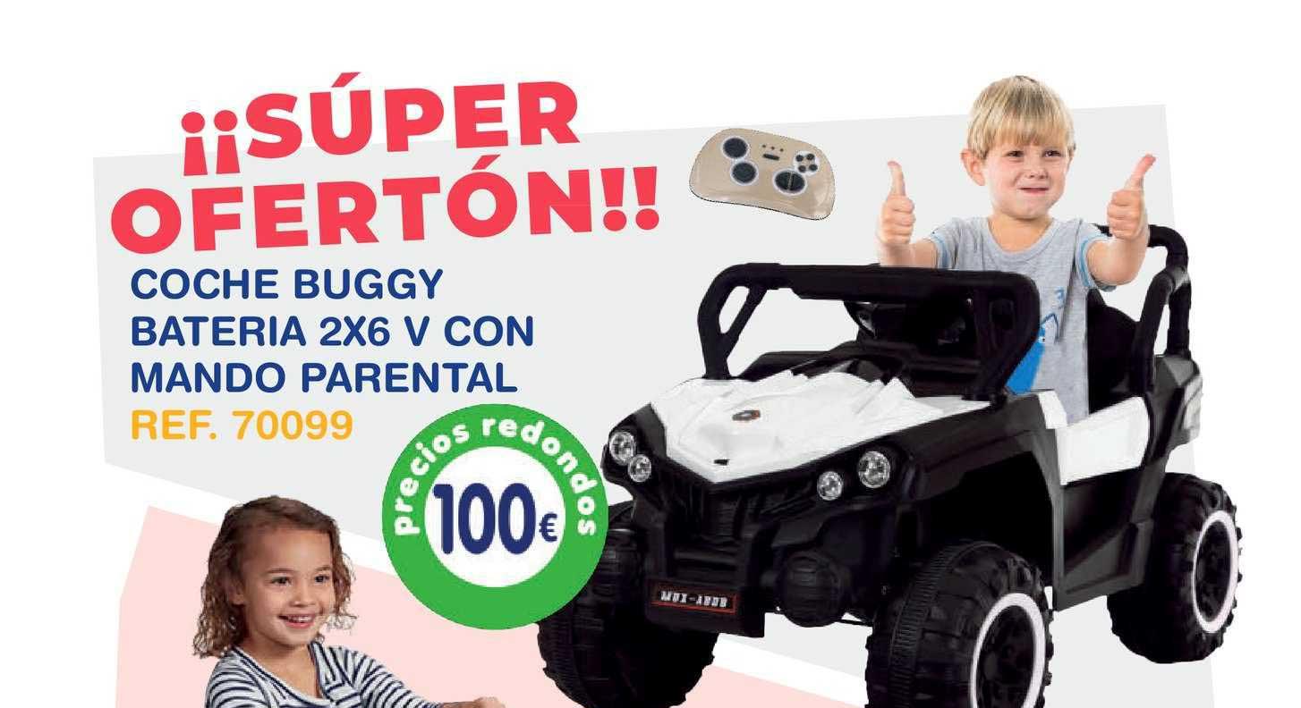 Tiendas MGI Coche Buggy Bateria 2x6 V Con Mando Parental
