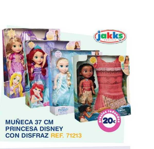 Tiendas MGI Muñeca 37 Cm Princesa Disney Con Disfraz Jakks