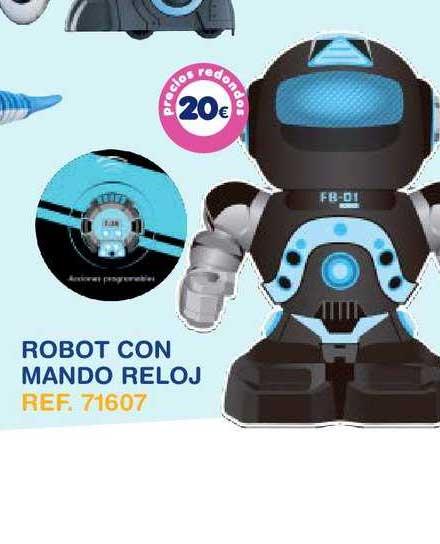 Tiendas MGI Robot Con Mando Reloj