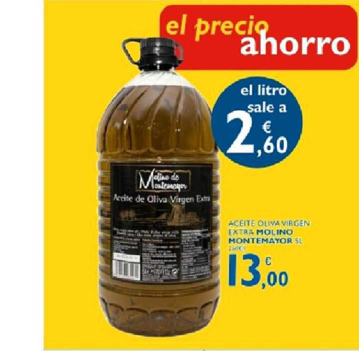 Supermercados La Despensa Aceite Oliva Virgen Extra Molino Montemayor 5l