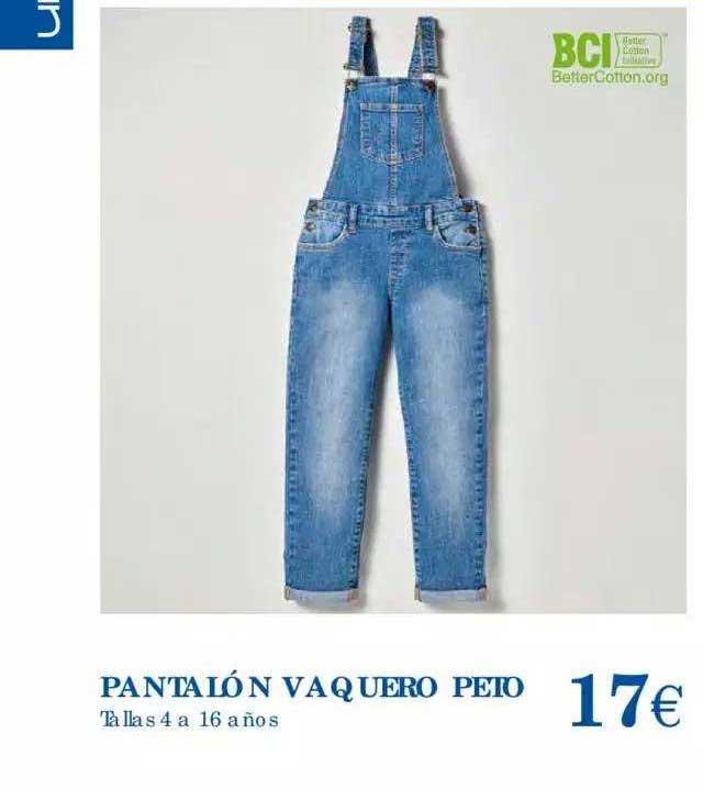Hipercor Pantalón Vaquero Peto