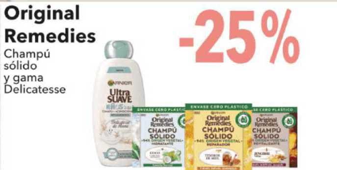 Clarel -25% Original Remedies Champú Sólido Y Gama Delicatesse