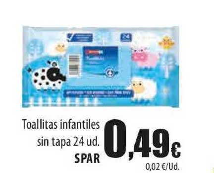 Spar Lanzarote Toallitas Infantiles Sin Tapa Spar