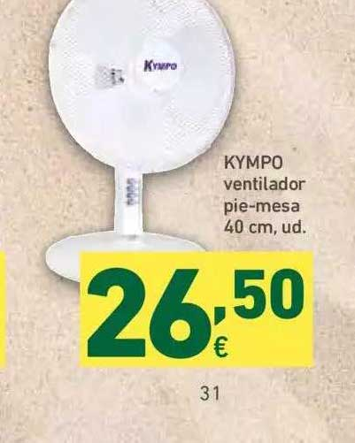 HiperDino Kympo Ventilador Pie-mesa