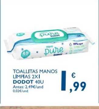 Supermercados La Despensa Toallitas Manos Limpias 2x1 Dodot