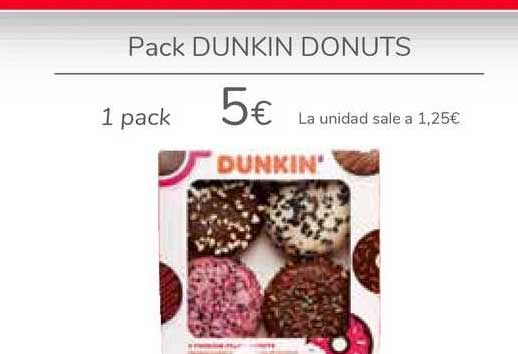 Carrefour Pack Dunkin Donuts