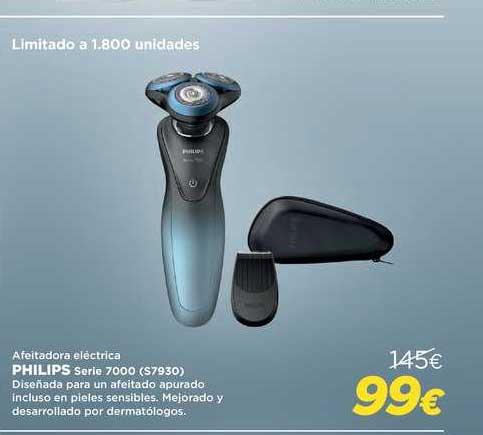 Oferta Afeitadora Eléctrica Philips Serie 7000 S7930 En El Corte Ingles