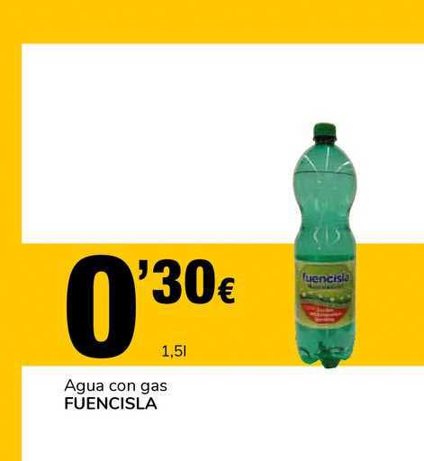 Supeco Agua Con Gas Fuencisla