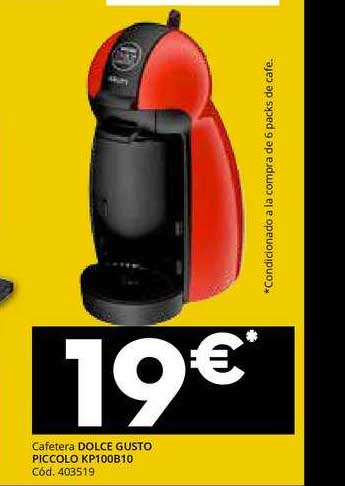 Conforama Cafetera Dolce Gusto Piccolo KP100B10