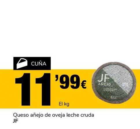 Supeco Queso Añejo De Oveja Leche Cruda Jf