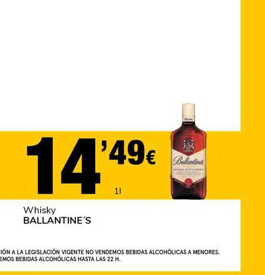 Supeco Whisky Ballantine's