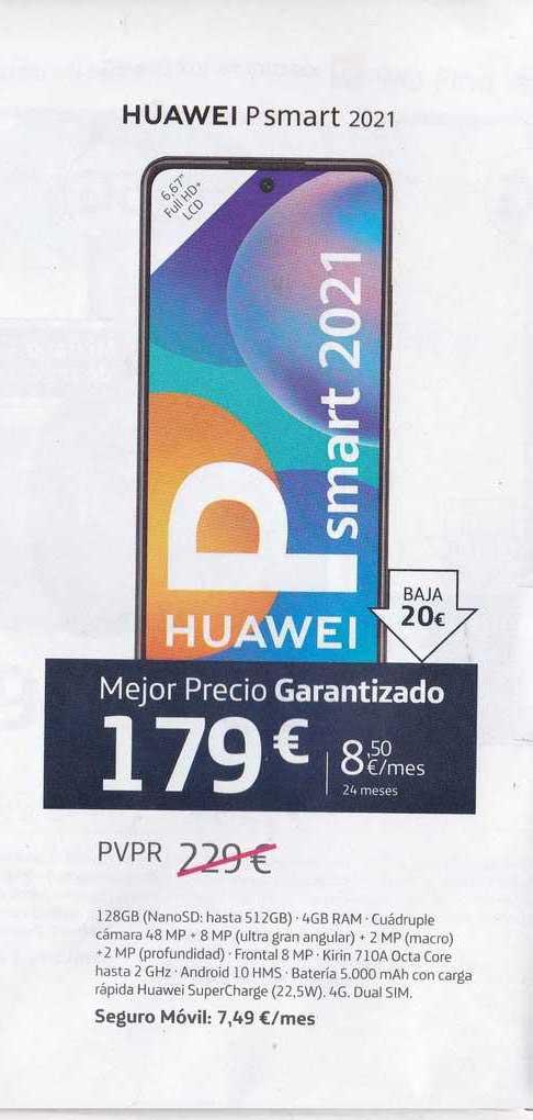 Movistar Huawei P Smart 2021