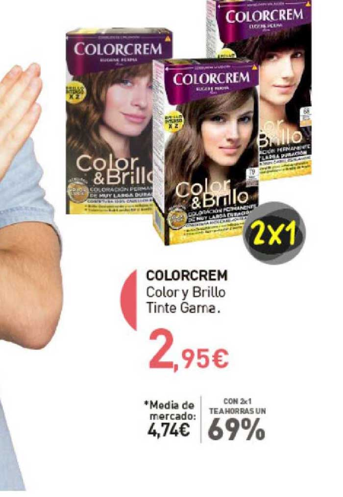 Primaprix Colorcrem Color Y Brillo Tinte Gama