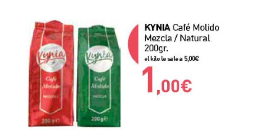 Primaprix Kynia Café Molido Mezcla ∕ Natural 200gr.