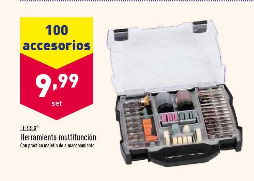ALDI 100 Accesorios Ferrex Herramienta Multifunción
