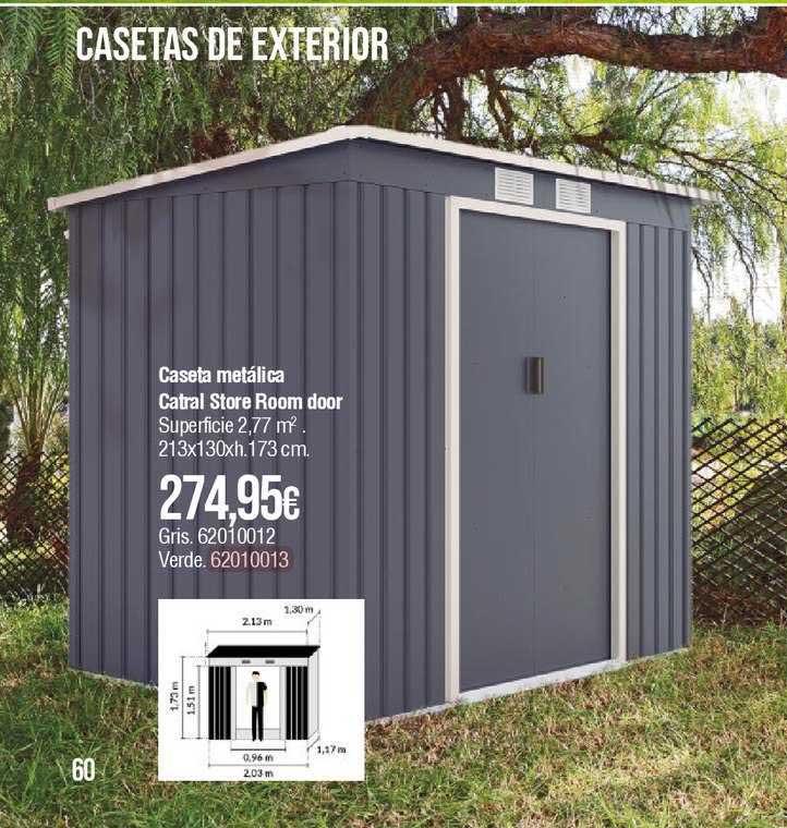 Cadena88 Caseta Metálica Catral Store Room Door