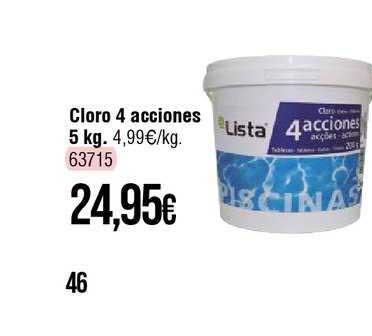 Cadena88 Cloro 4 Acciones