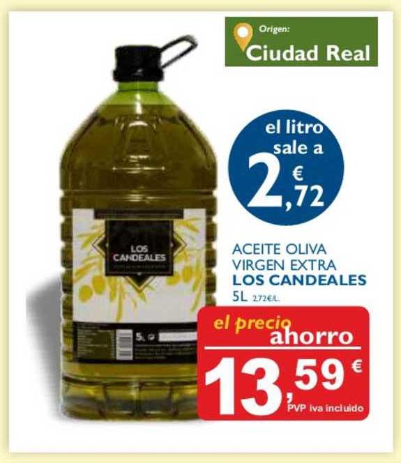Supermercados La Despensa Aceite Oliva Virgen Extra Los Candeales