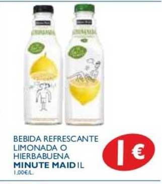 Supermercados La Despensa Bebida Refrescante Limonada O Hierbabuena Minute Maid