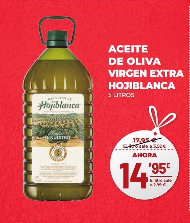 AhorraMas Aceite De Oliva Virgen Extra Hojiblanca 5 Litros