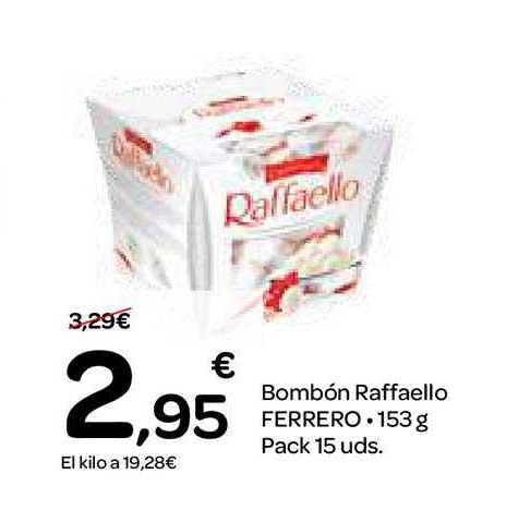 Dialprix Bombón Raffaello Ferrero. 153 G