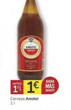 Consum Cerveza Amstel 1 L