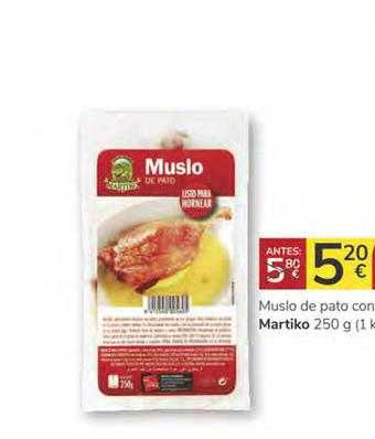 Consum Muslo De Pato Con Martiko 250 G