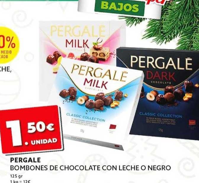 Dealz Pergale Bombones De Chocolate Con Leche O Negro