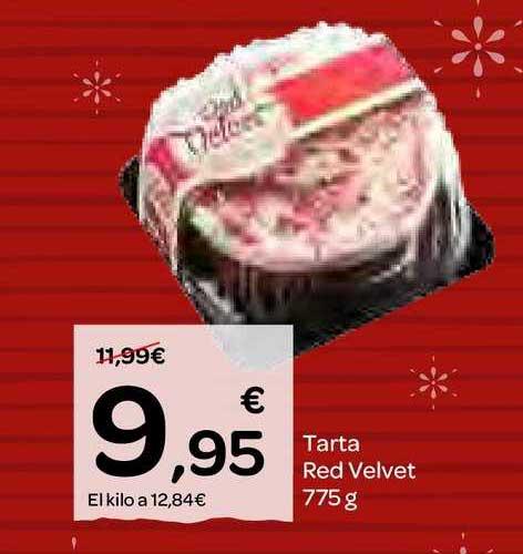 Dialprix Tarta Red Velvet 775 G