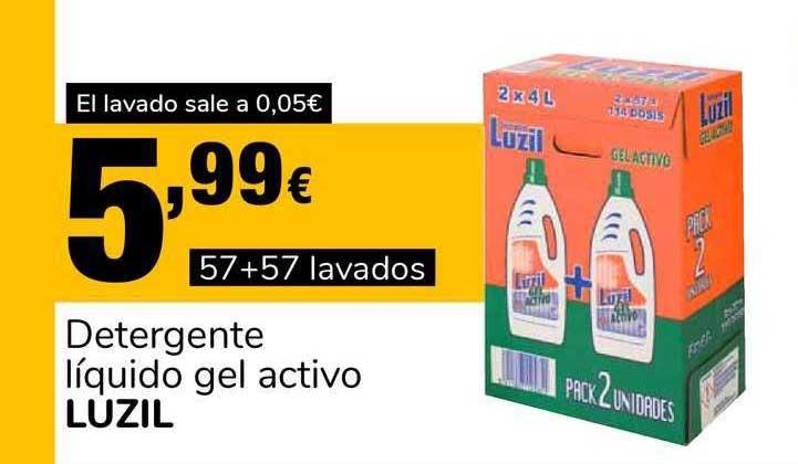 Supeco Detergente Líquido Gel Activo Luzil