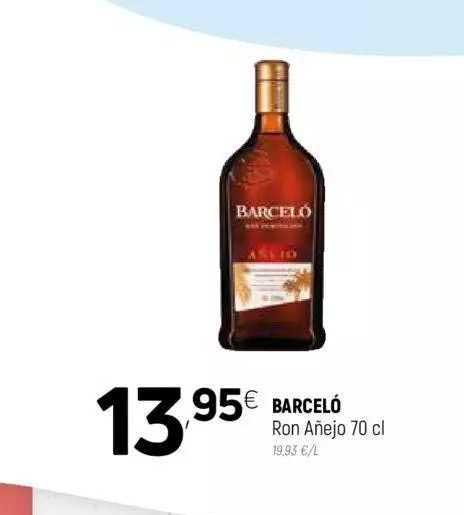 Coviran Barceló Ron Añejo
