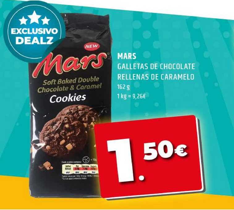 Dealz Mars Galletas De Chocolate Rellenas De Caramelo