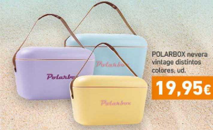HiperDino Polarbox Nevera Vintage Distintos