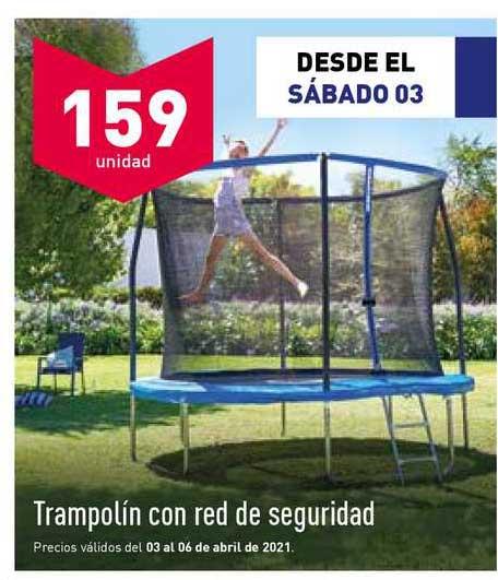 ALDI Trampolín Con Red De Seguridad