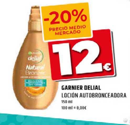 Dealz Garnier Delial Loción Autobronceadora