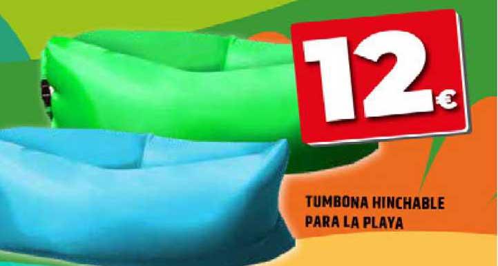 Dealz Tumbona Hinchable Para La Playa