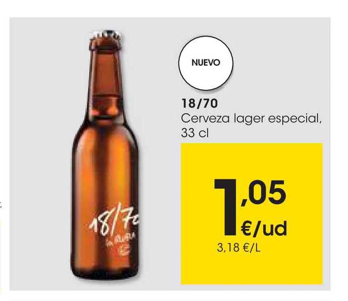 EROSKI 18-70 Cerveza Lager Especial