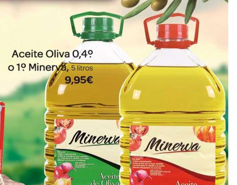 Supermercados El Jamón Aceite Oliva 0 Minerva 5 Litros