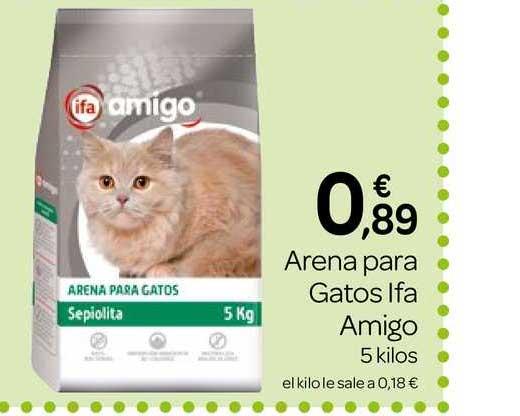 Supermercados El Jamón Arena Para Gatos Ifa Amigo 5 Kilos