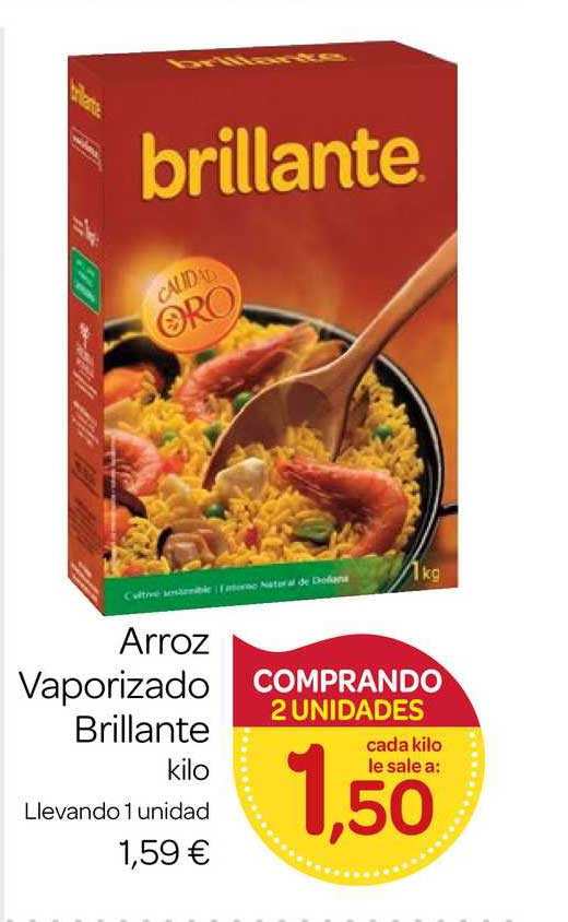 Supermercados El Jamón Arroz Vaporizado Brillante