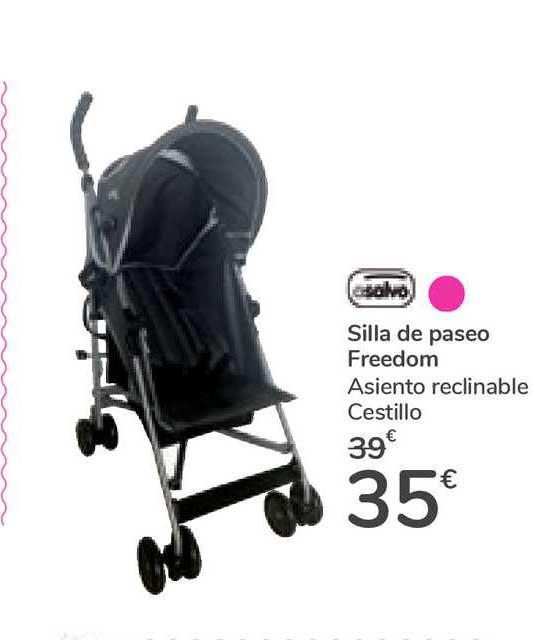 Oferta Asalvo Silla De Paseo Freedom En Carrefour