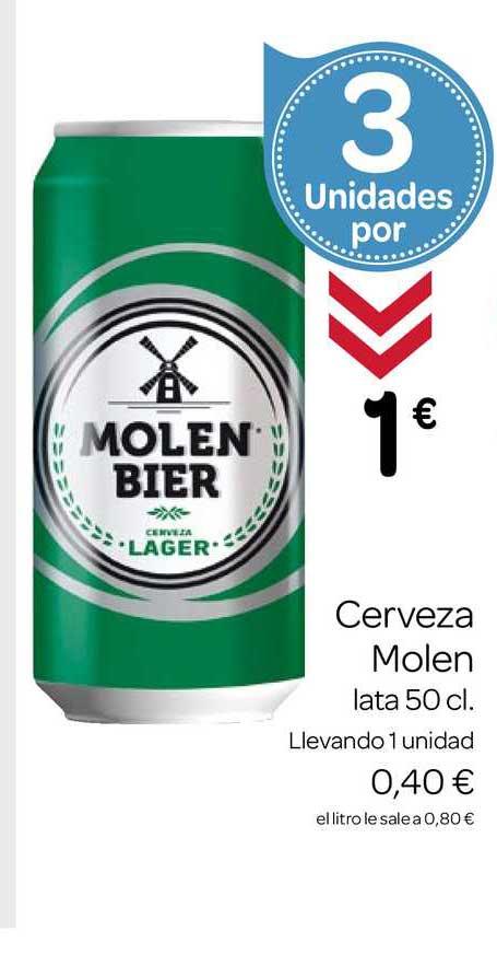 Supermercados El Jamón Cerveza Molen Bier Lata 50cl