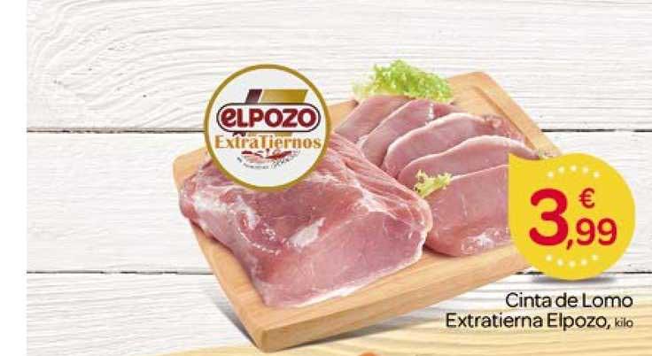 Supermercados El Jamón Cinta De Lomo Extratierna ELPOZO
