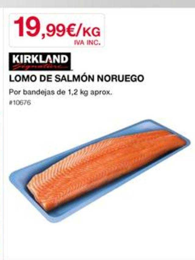 Costco Kirkland Signature Lomo De Salmón Noruego