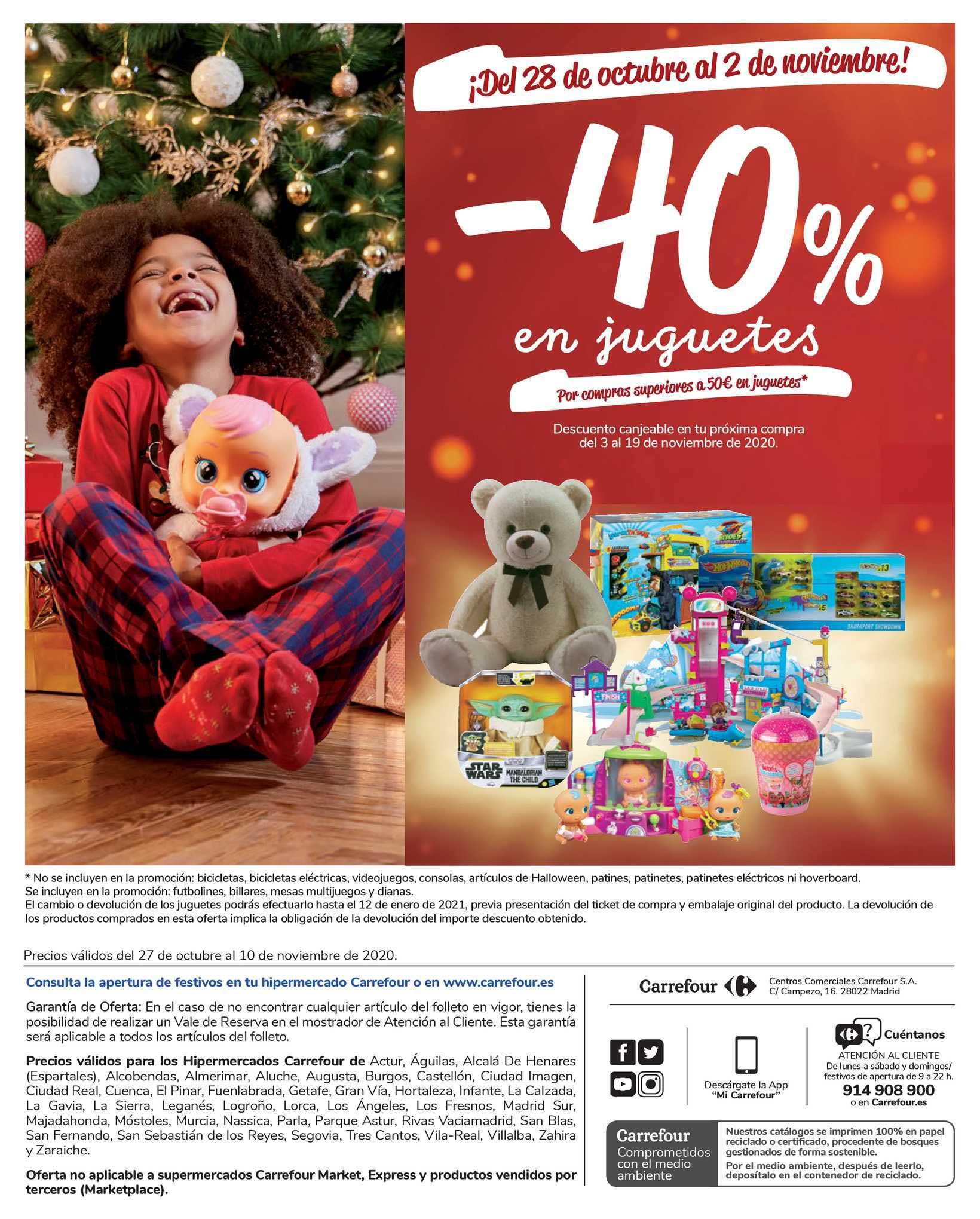 Carrefour -40% En Juguetes
